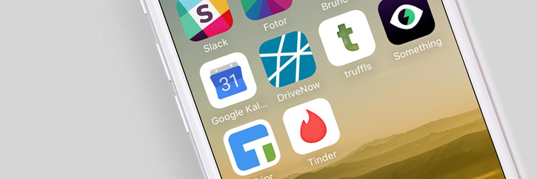 Swipe Hype: Smartphone mit Apps zum swipen