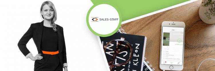 Erfolgsgeschichten Interview mit Anne Funke von SALES-STAFF