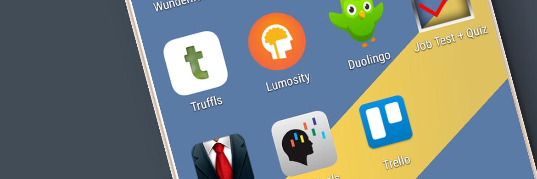 Apps für Jobsuche, Bewerbung und Organisation
