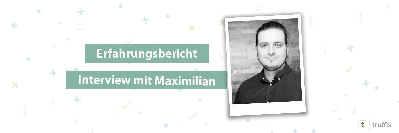 Maximilians Erfahrungsbericht über truffls